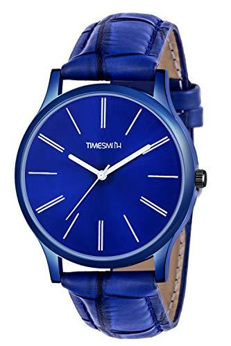Timesmith   Timesmith Blue Leather Blue Dial Watch For Men CTC-006 For Men