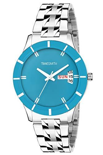 Timesmith   Timesmith Blue Steel Day Date Watch for Women TSC-114 For Women