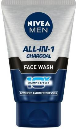 Nivea | NIVEA All-In-1 Charcoal Face Wash  (100 g)