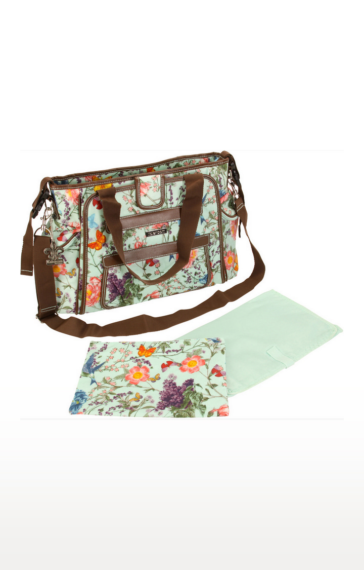Mothercare   Kalencom Nylon Coated Nola Tote Diaper Bag
