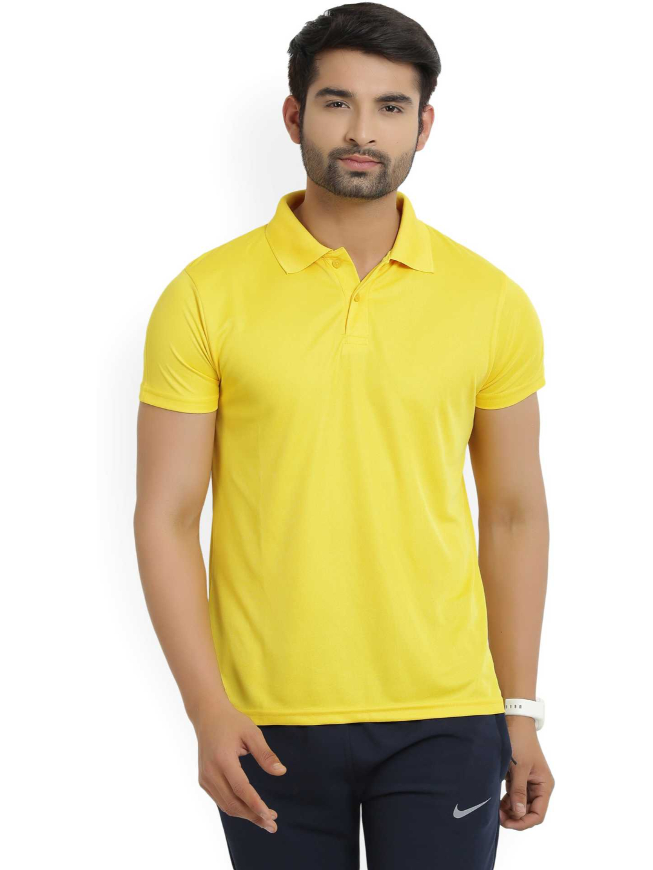 Lotto | Lotto Men's Polo Basic Yellow T-Shirt