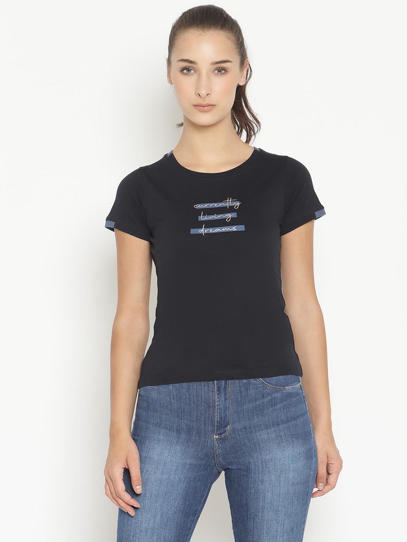 METTLE   Women NAVY T-Shirts
