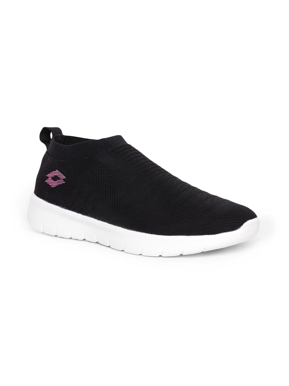 Lotto | Lotto Women's Vittorio W Black/Pink Sneakers