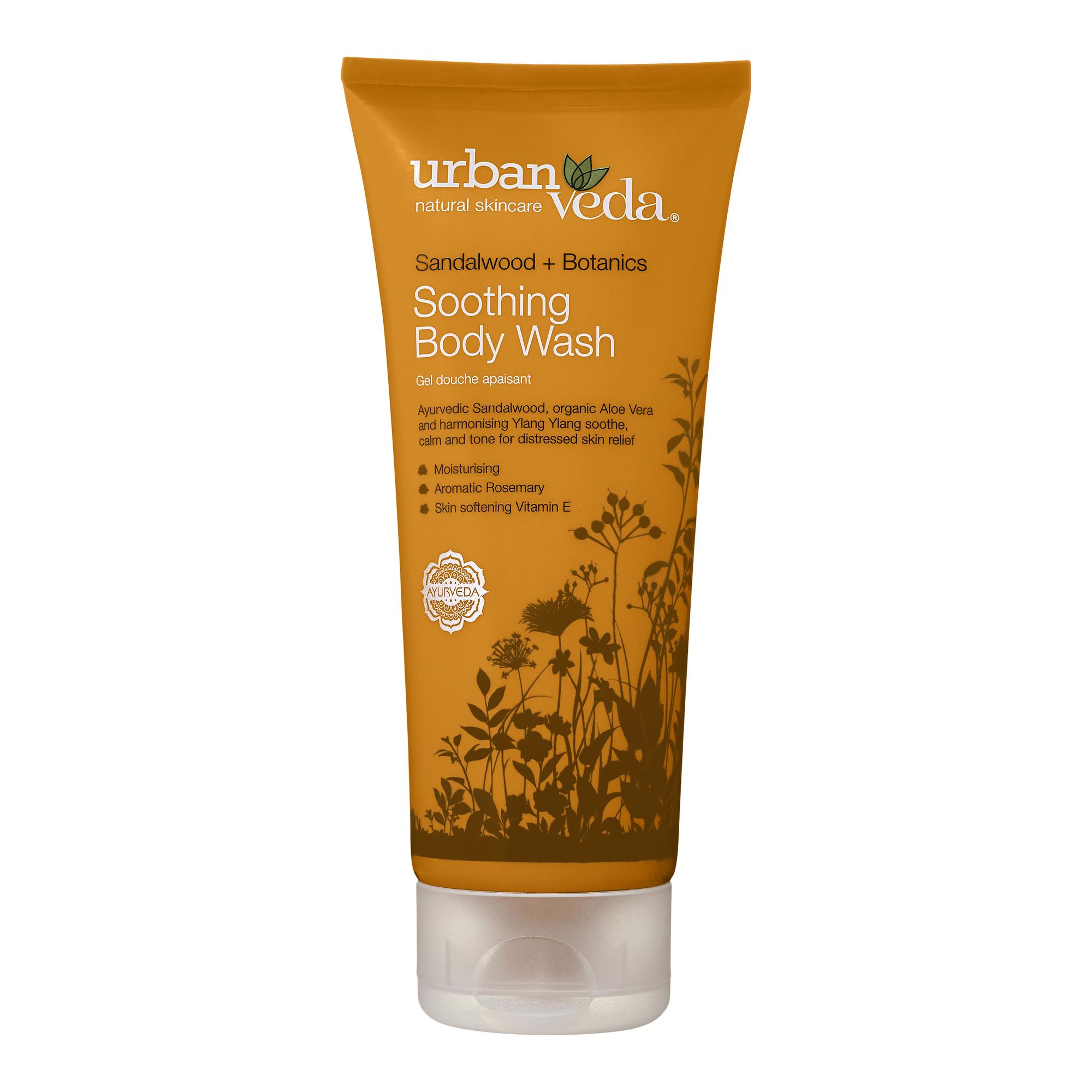 Urban Veda | Urban Veda Soothing Sandalwood Body Wash, 200ml