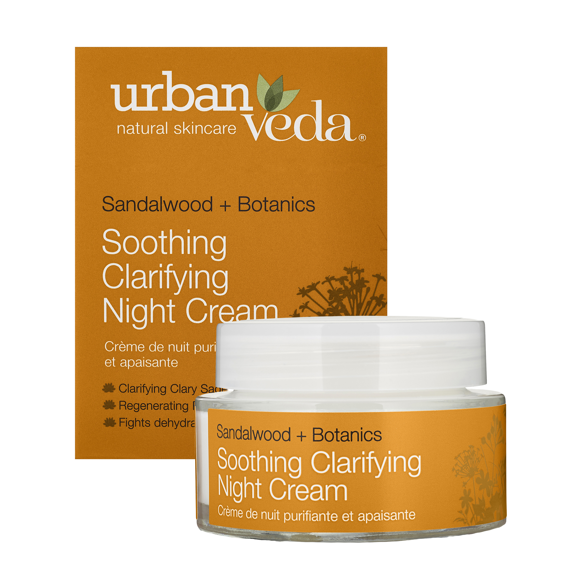 Urban Veda | Urban Veda Soothing Sandalwood Clarifying Night Cream, 50ml