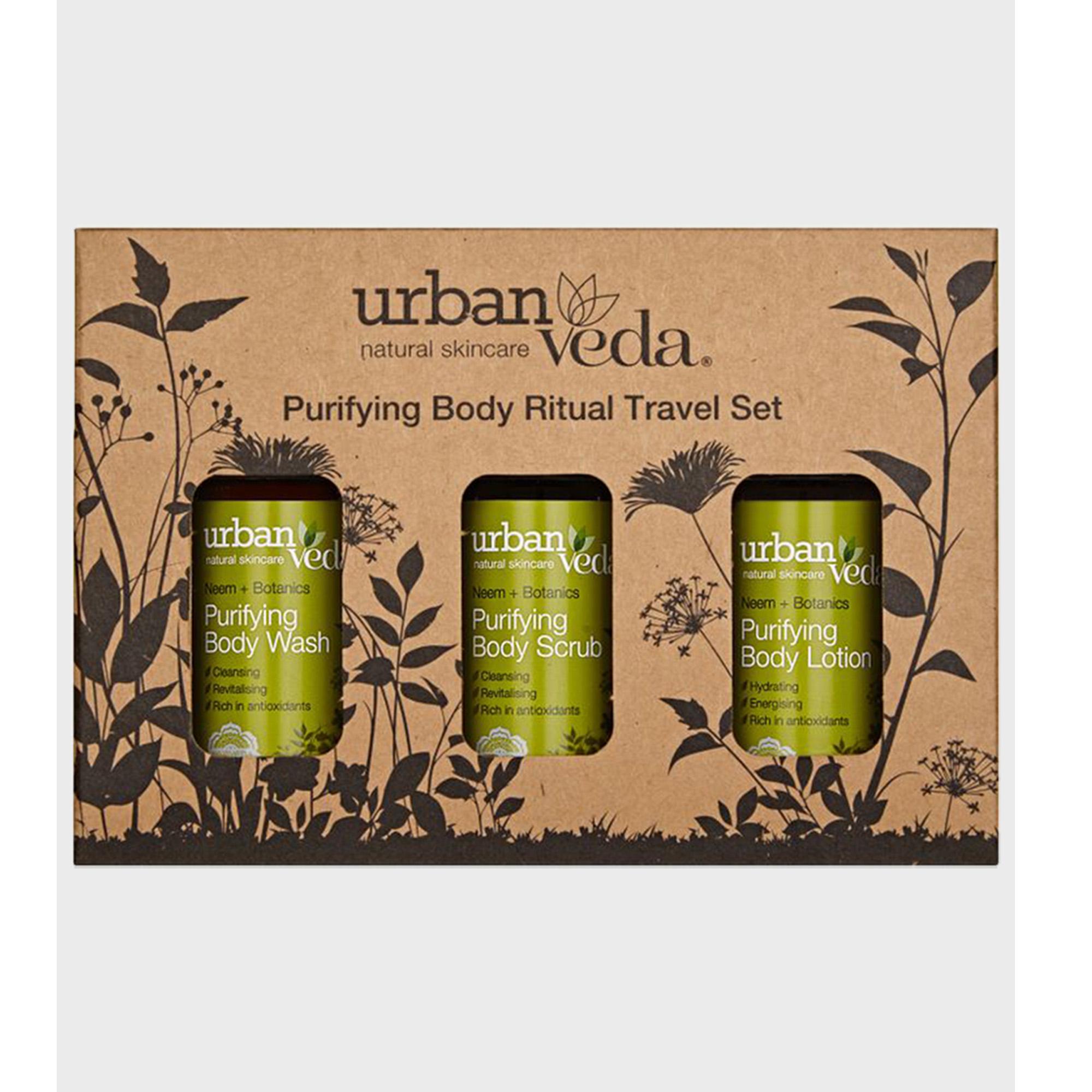Urban Veda | Urban Veda Purifying Body Ritual Travel Set