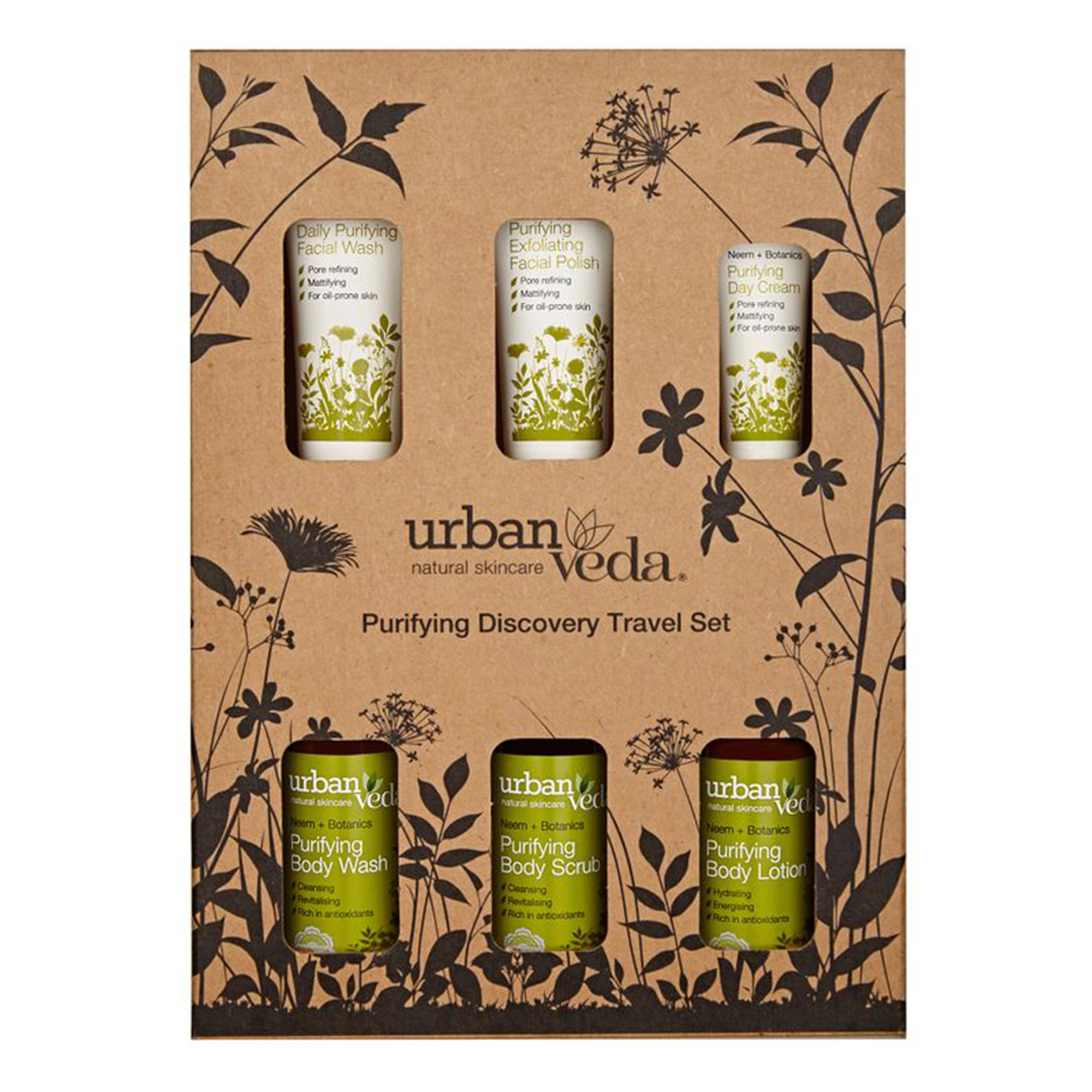 Urban Veda | Urban Veda Purifying Complete Discovery Travel Set