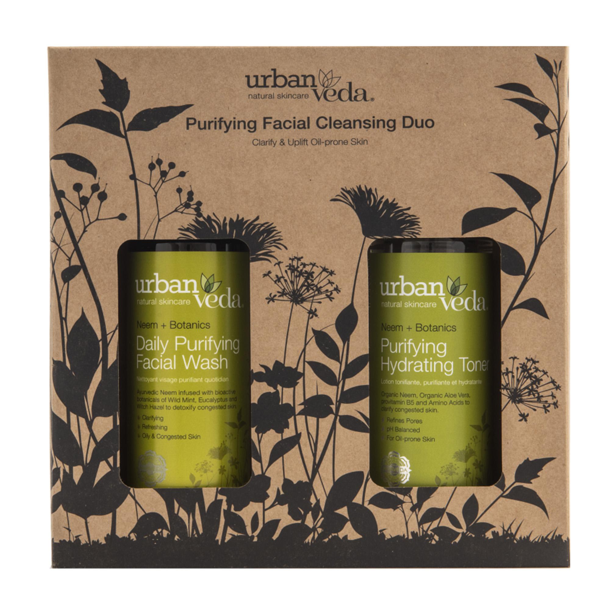 Urban Veda | Urban Veda Purifying Facial Cleansing Duo