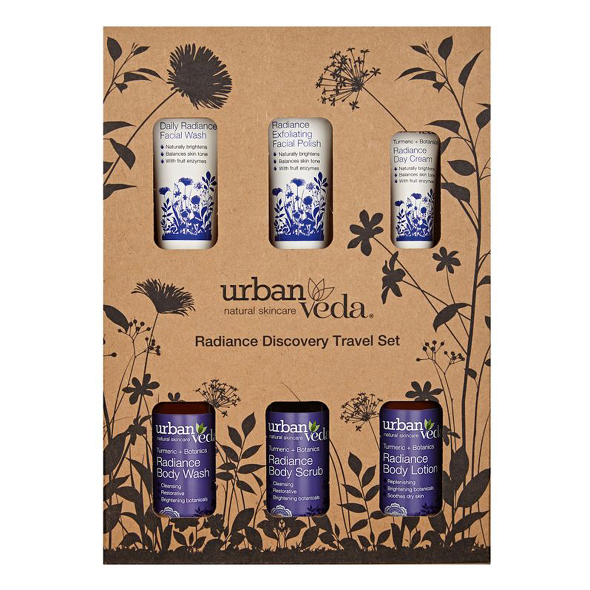 Urban Veda | Urban Veda Radiance Complete Discovery Travel Set