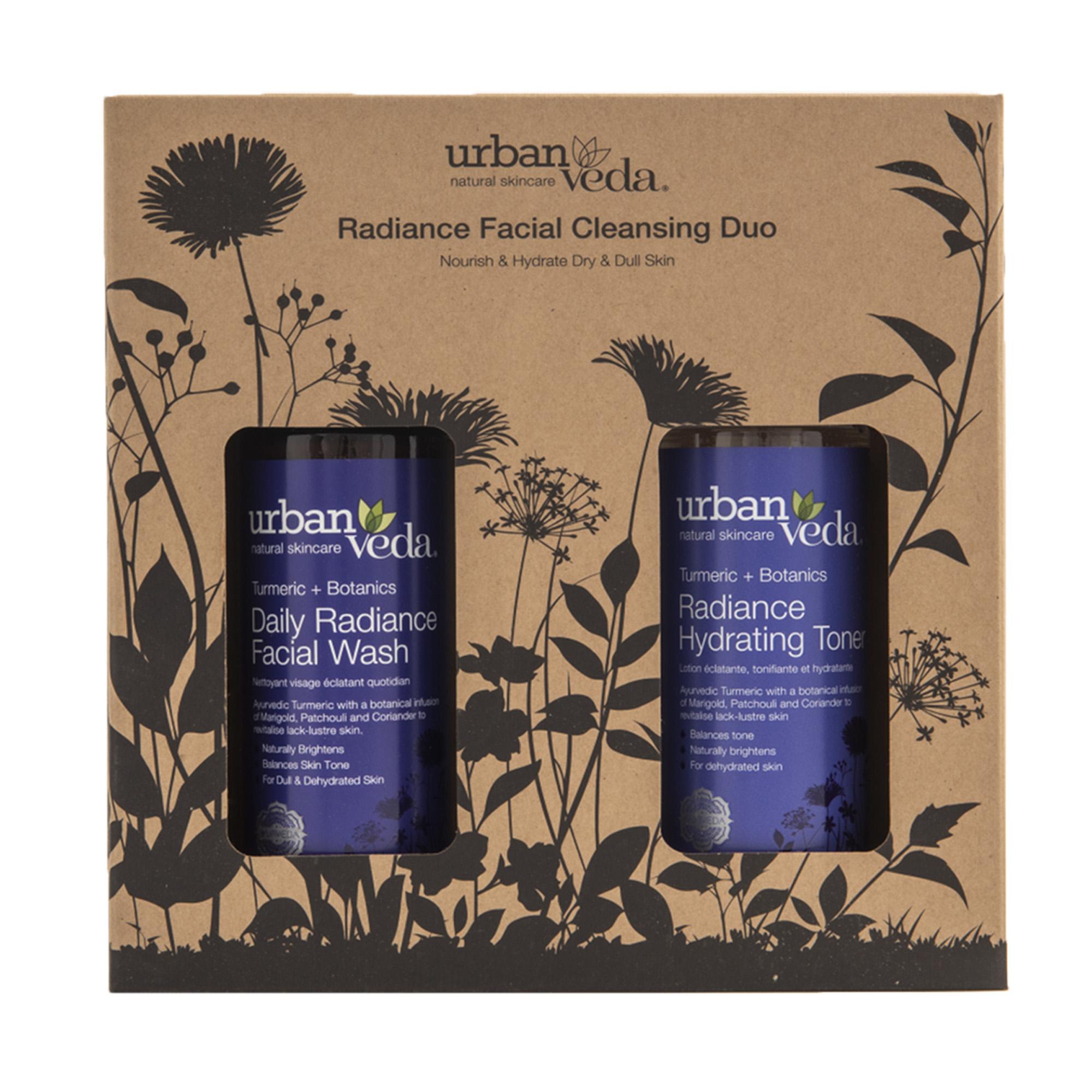 Urban Veda | Urban Veda Radiance Facial Cleansing Duo