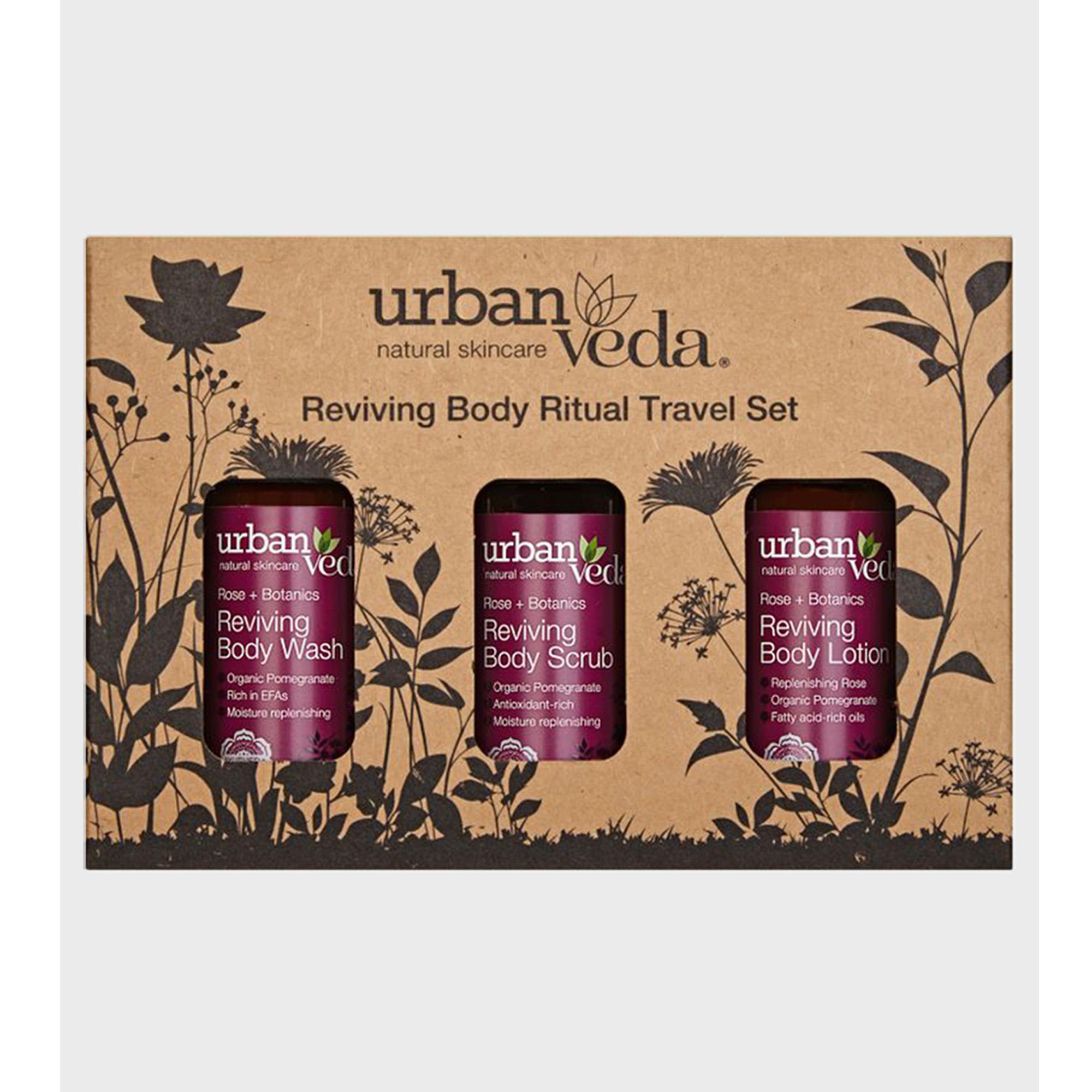 Urban Veda | Urban Veda Reviving Body Ritual Travel Set