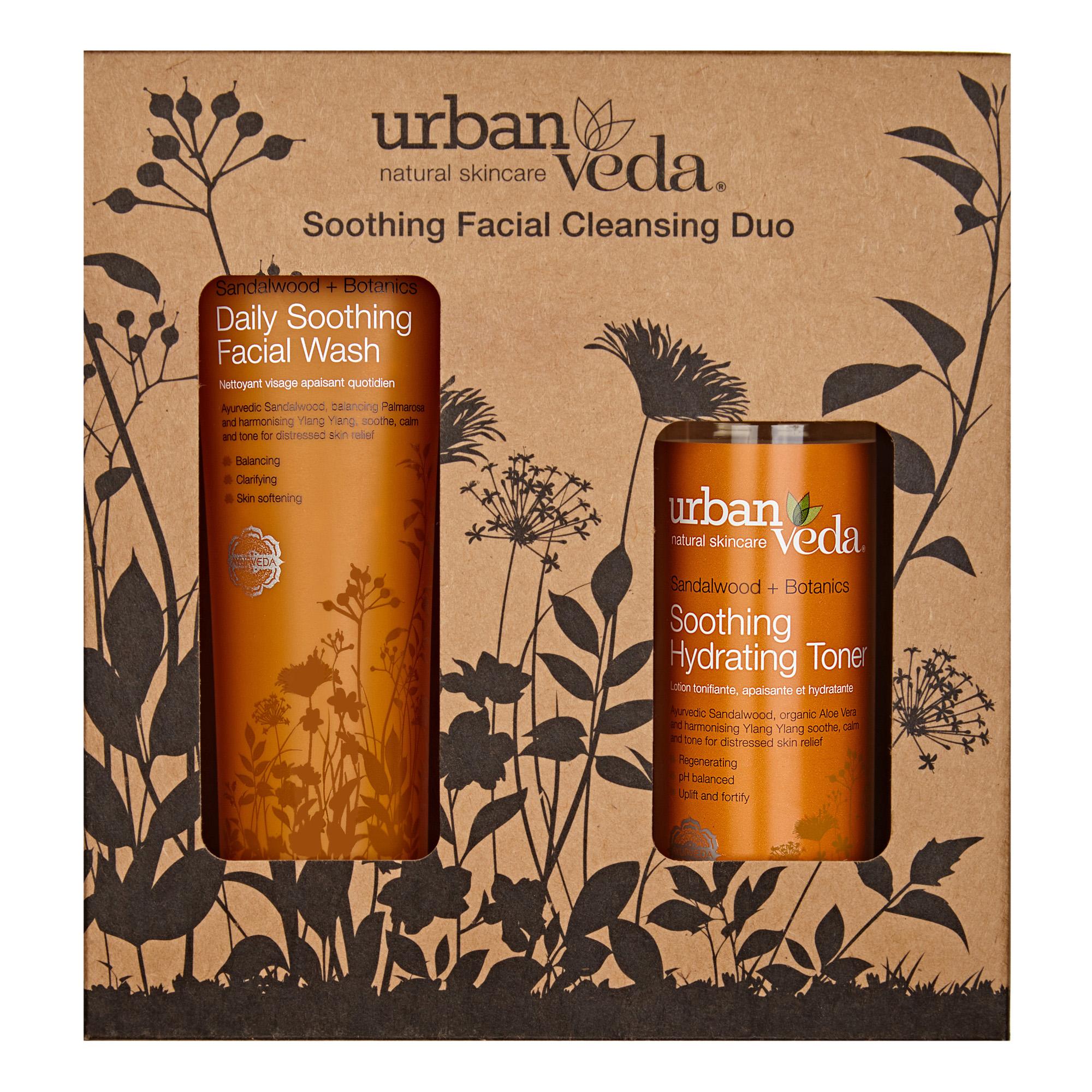 Urban Veda | Urban Veda Soothing Facial Cleansing Duo