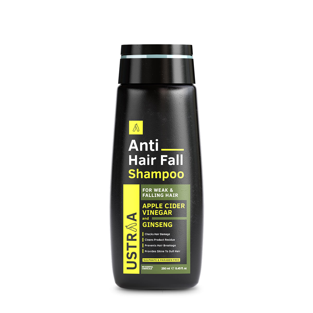 Ustraa | Ustraa Anti Hair Fall with Apple Cider Vinegar Shampoo, 250ml