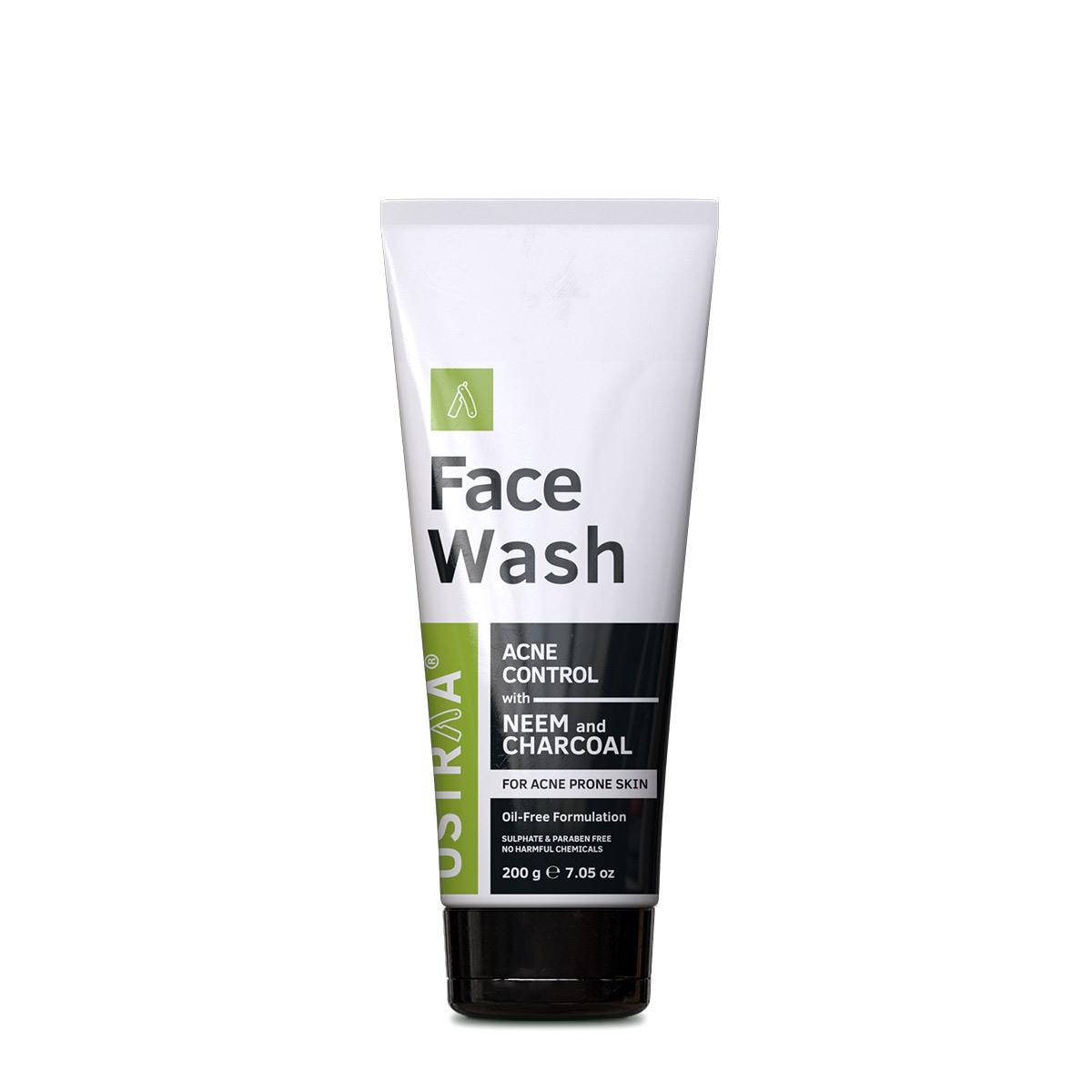 Ustraa | Ustraa Face Wash-Neem & Charcoal-200g