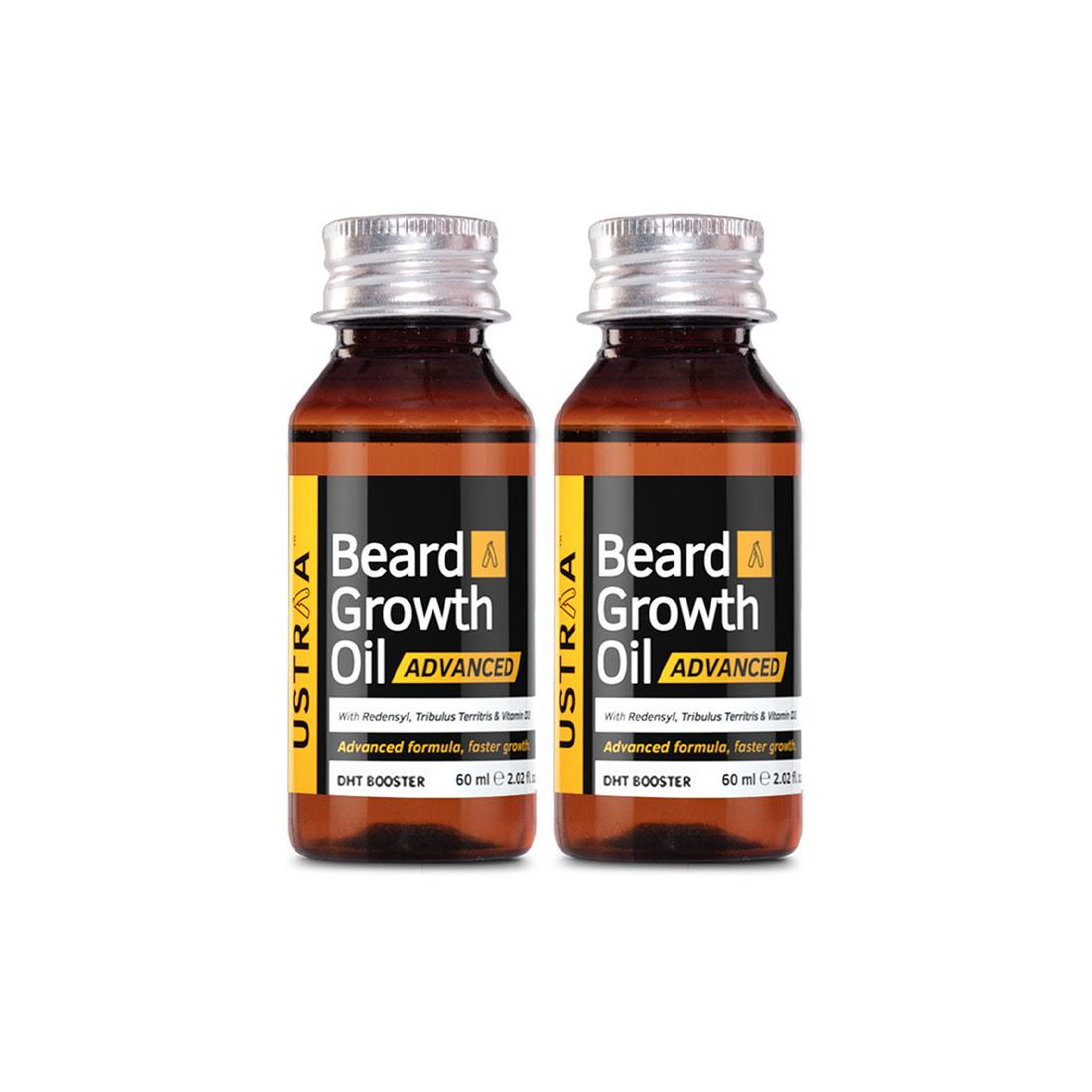 Ustraa | Ustraa Beard Growth Oil - Advanced Set of 2