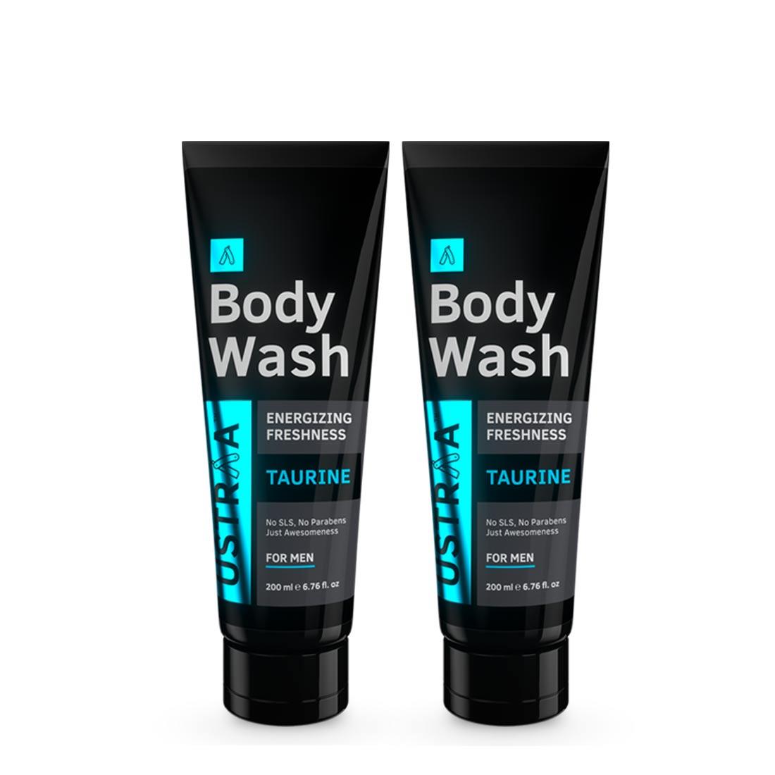 Ustraa | Ustraa Body Wash-Taurine 200 ml (Pack of 2)