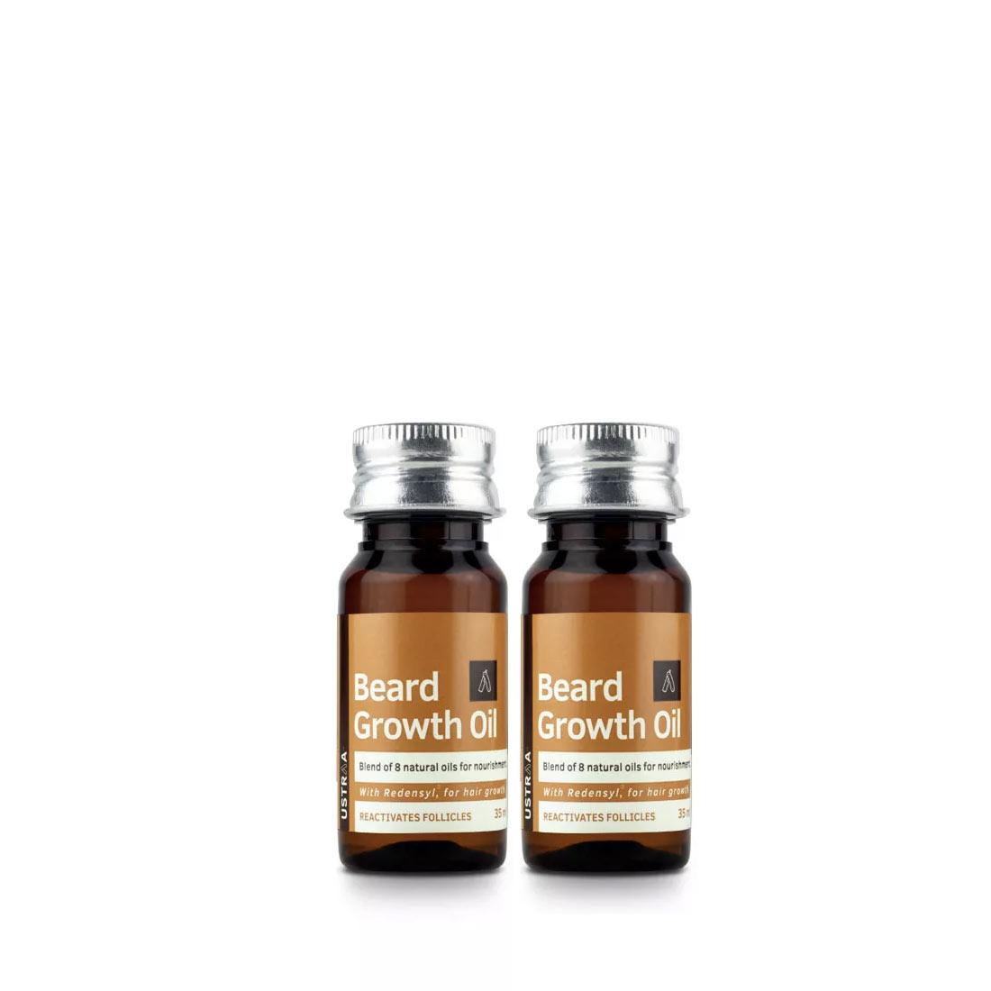 Ustraa | Ustraa Beard Growth Oil 35 ml (Set of 2)