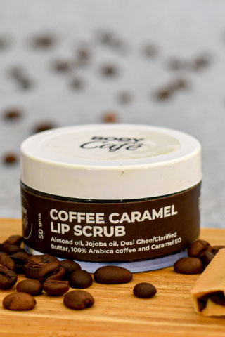 BodyCafe | BodyCafé Coffee Caramel Lip Scrub