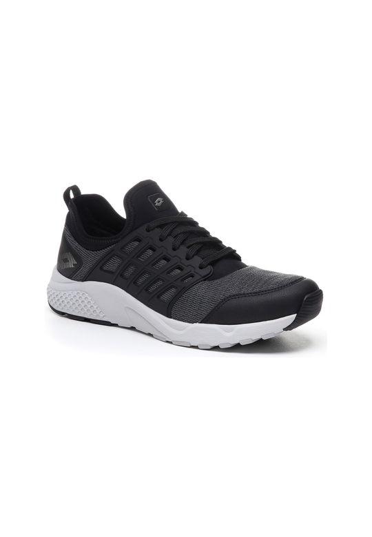 Lotto | Lotto Men's Breeze Free Iv Mlg All Black/Gravity Titan/Cool Gray 11C Running Shoes