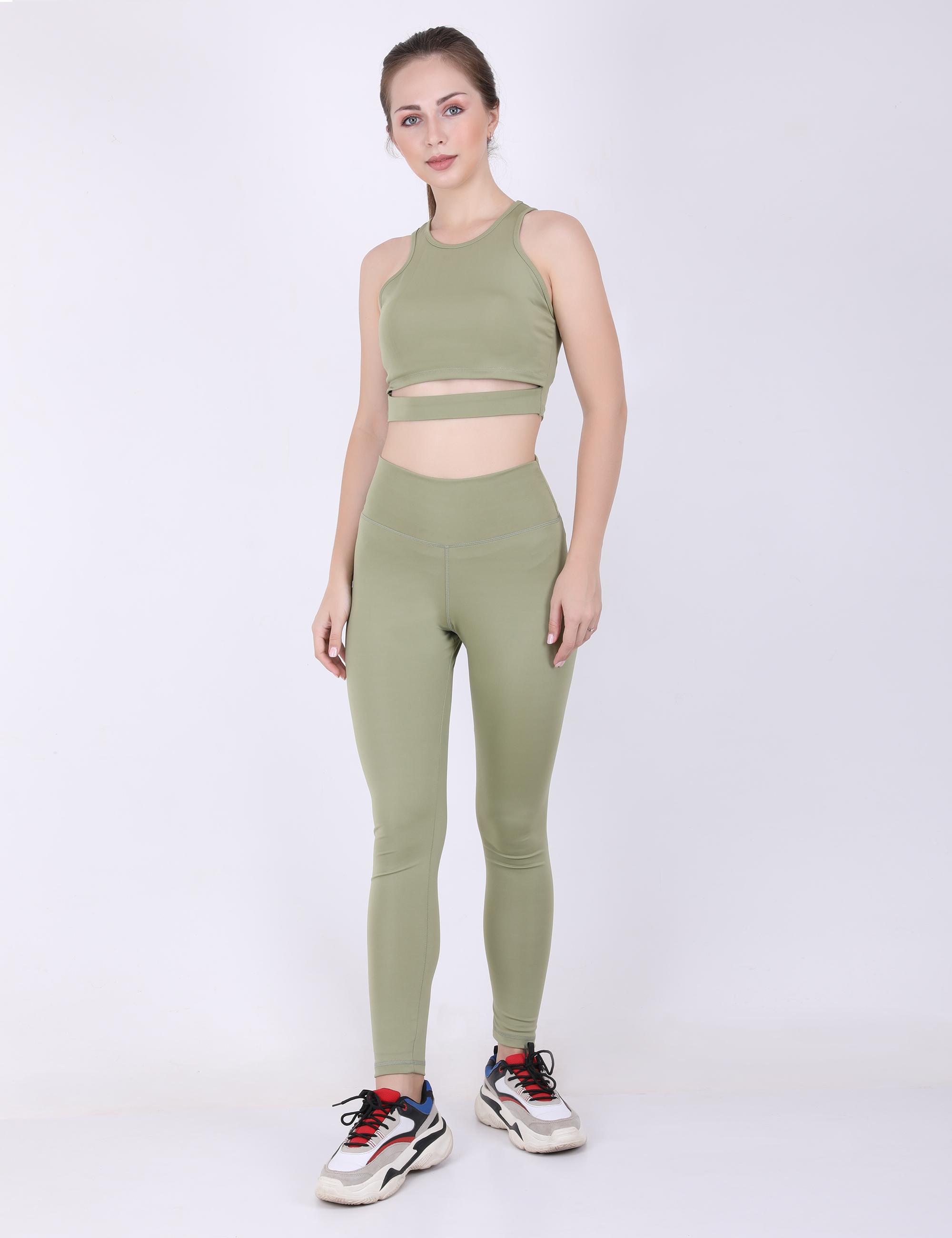 EVERDION | Green Workout Tank