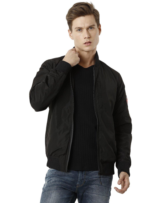 Voi Jeans | Black Bomber Jackets