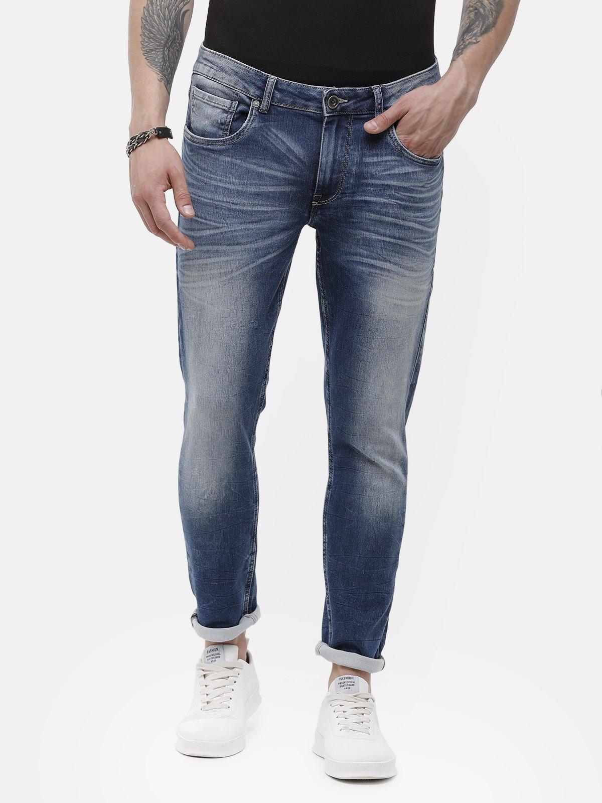 Voi Jeans | Mid Blue Jeans (VOJN1352)