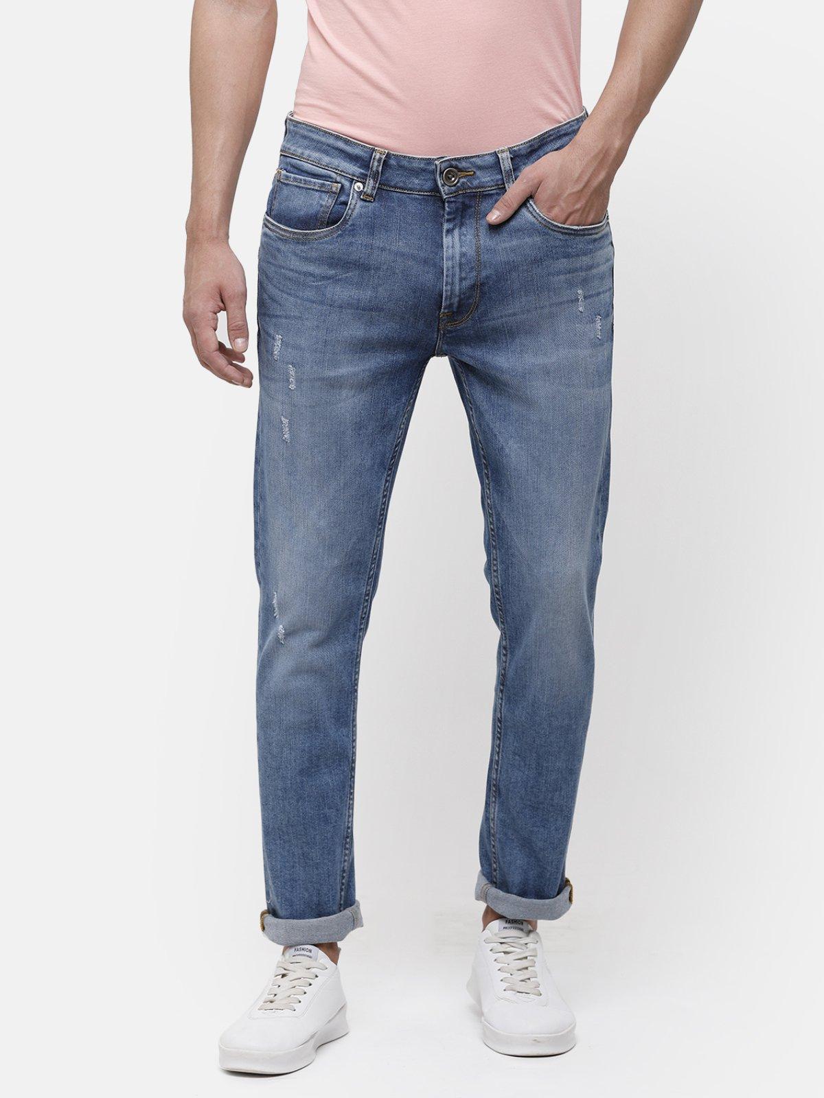 Voi Jeans | Mid-Blue Jeans (VOJN1538 )