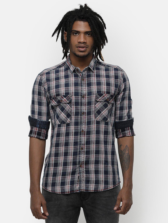 Voi Jeans   Multi Casual Shirts (VOSH1255)
