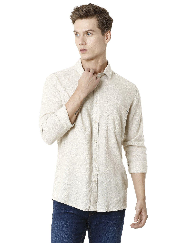 Voi Jeans | Grey Casual Shirts (VOSH1333)