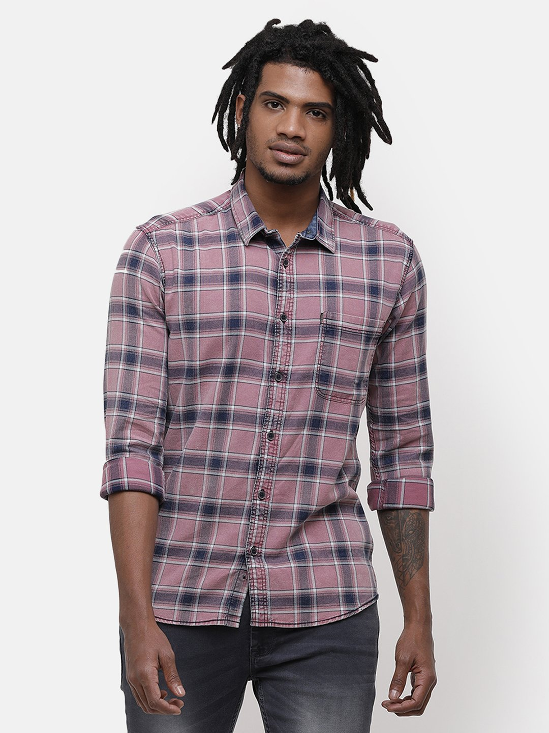 Voi Jeans | Pink Casual Shirts (VOSH1352)
