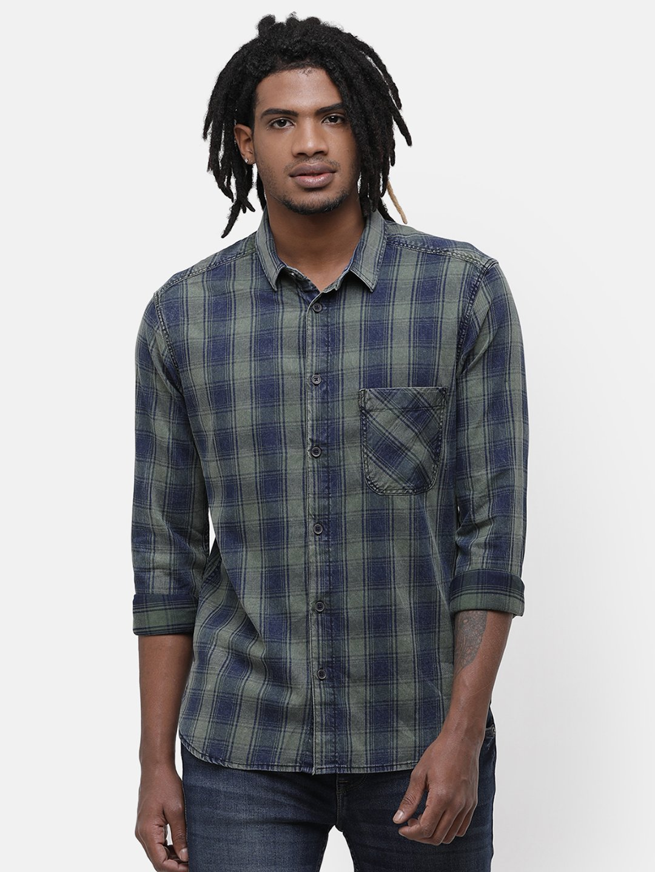 Voi Jeans | Blue Casual Shirts (VOSH1354)