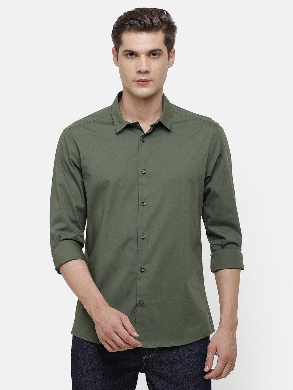 Voi Jeans | Green Shirt (VOSH1429 )