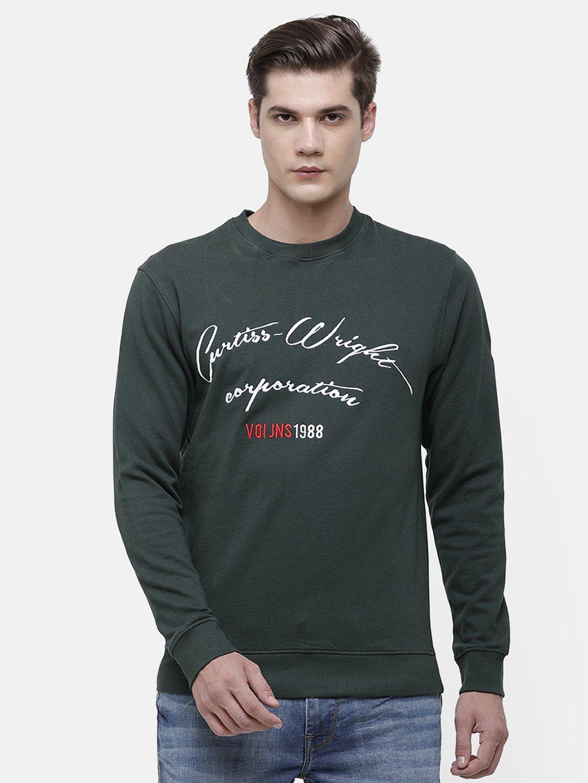 Voi Jeans | Dark Green Sweatshirt (VOSS0956 )