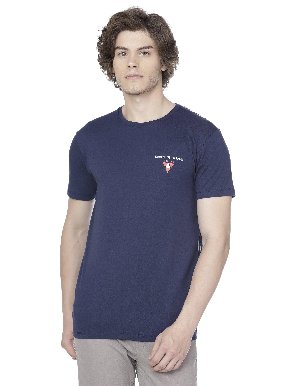 Voi Jeans | Blue T-Shirts (VOTS1290)