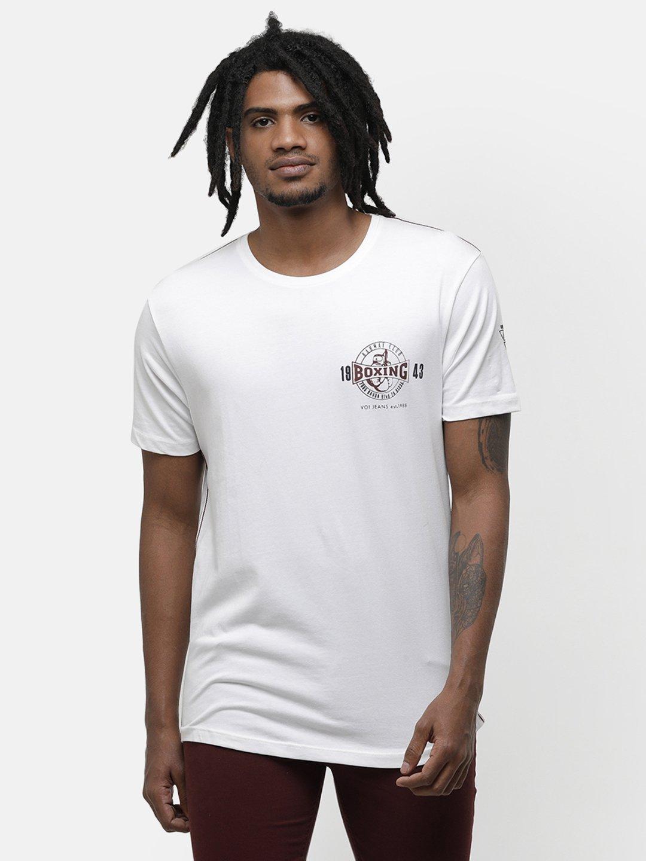 Voi Jeans | White T-Shirts (VOTS1300)