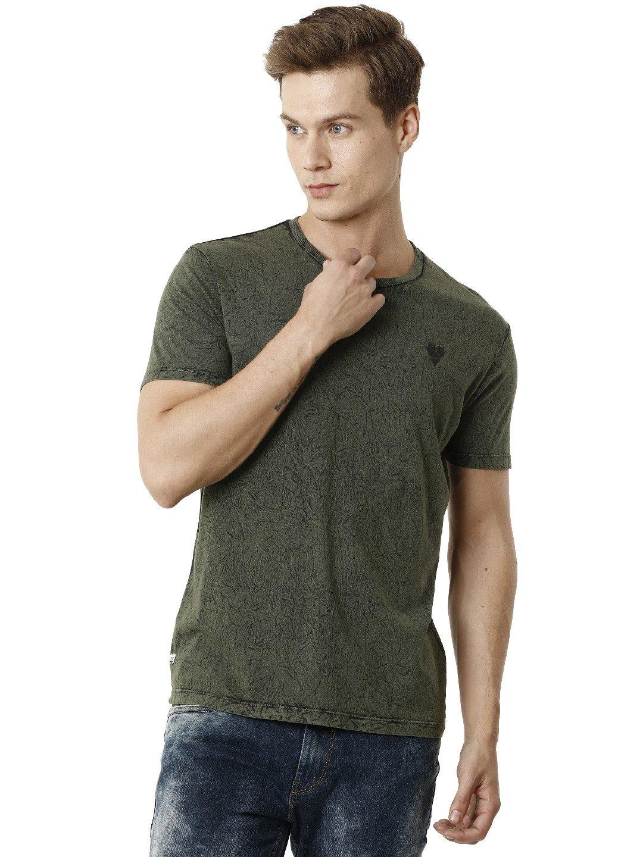 Voi Jeans | Green T-Shirts (VOTS1402)