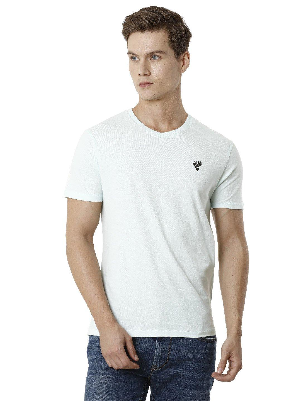 Voi Jeans | Blue T-Shirts (VOTS1409)
