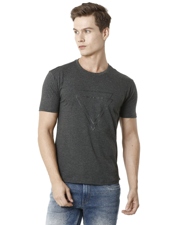 Voi Jeans | Grey T-Shirts (VOTS1414)