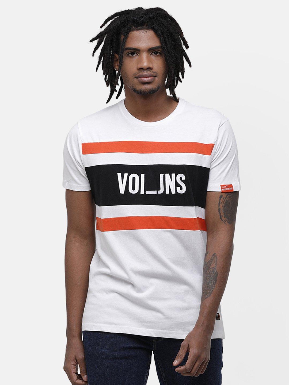 Voi Jeans | White T-Shirts (VOTS1422)