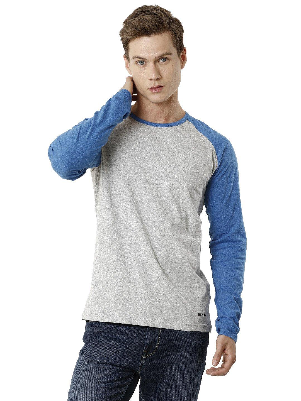 Voi Jeans | Blue T-Shirts (VOTS1437)