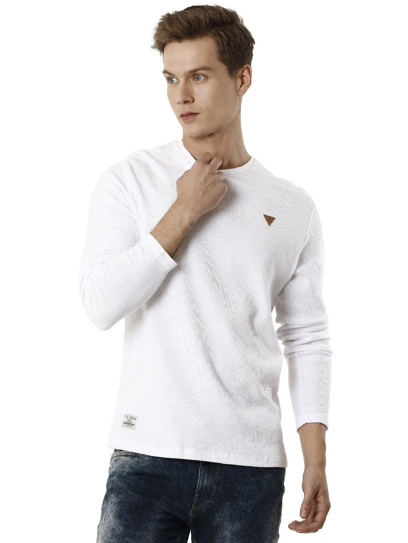 Voi Jeans | White T-Shirts (VOTS1442)