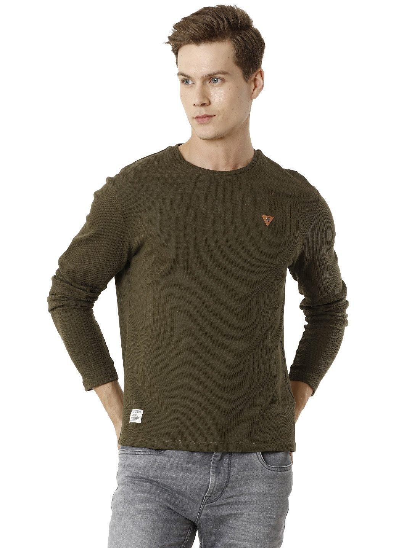 Voi Jeans | Green T-Shirts (VOTS1443)