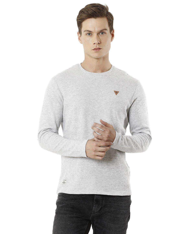 Voi Jeans | Grey T-Shirts (VOTS1444)