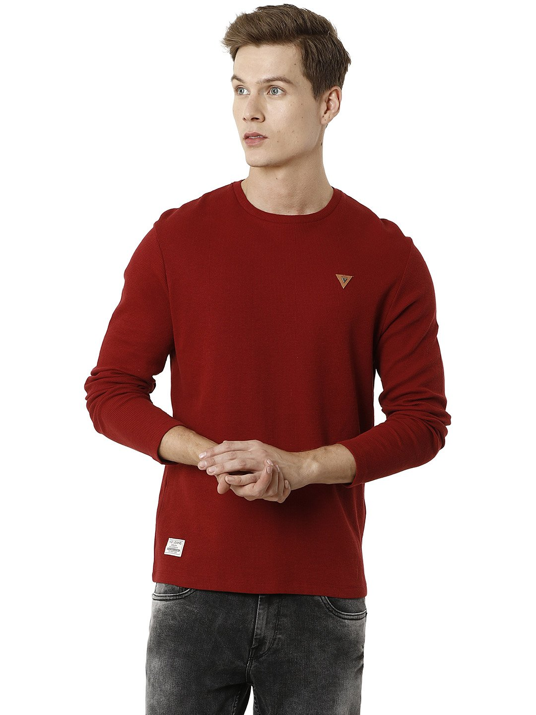 Voi Jeans | Red T-Shirts (VOTS1445)