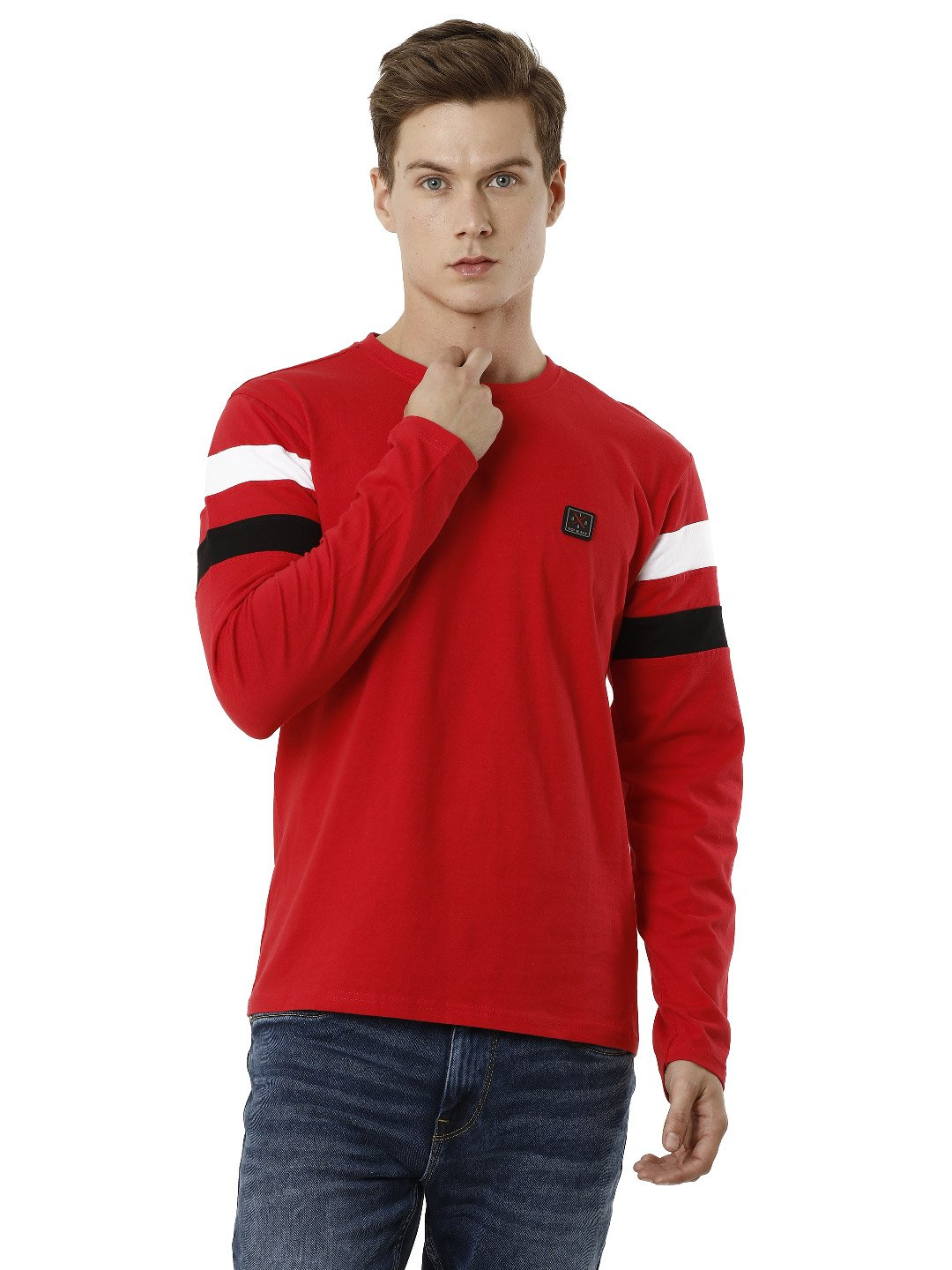 Voi Jeans | Red T-Shirts (VOTS1447)