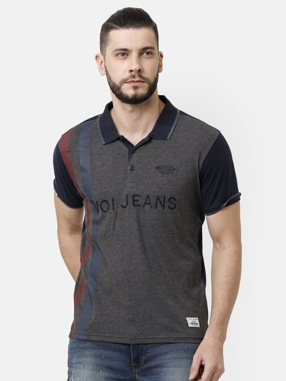 Voi Jeans | Grey T-Shirts (VOTS1454)