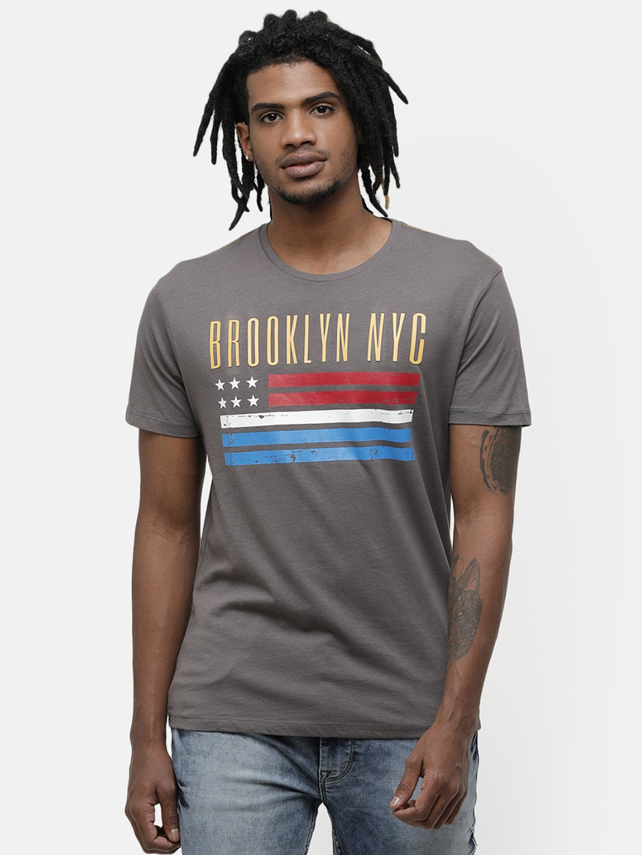 Voi Jeans | Brown T-Shirts (VOTS1463)