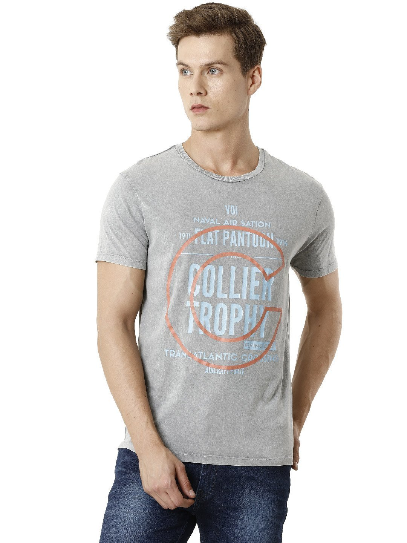 Voi Jeans | Grey T-Shirts (VOTS1468)