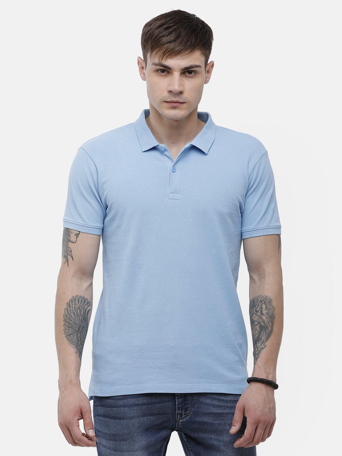 Voi Jeans | Dust Blue T-Shirt ( VOTS1572)