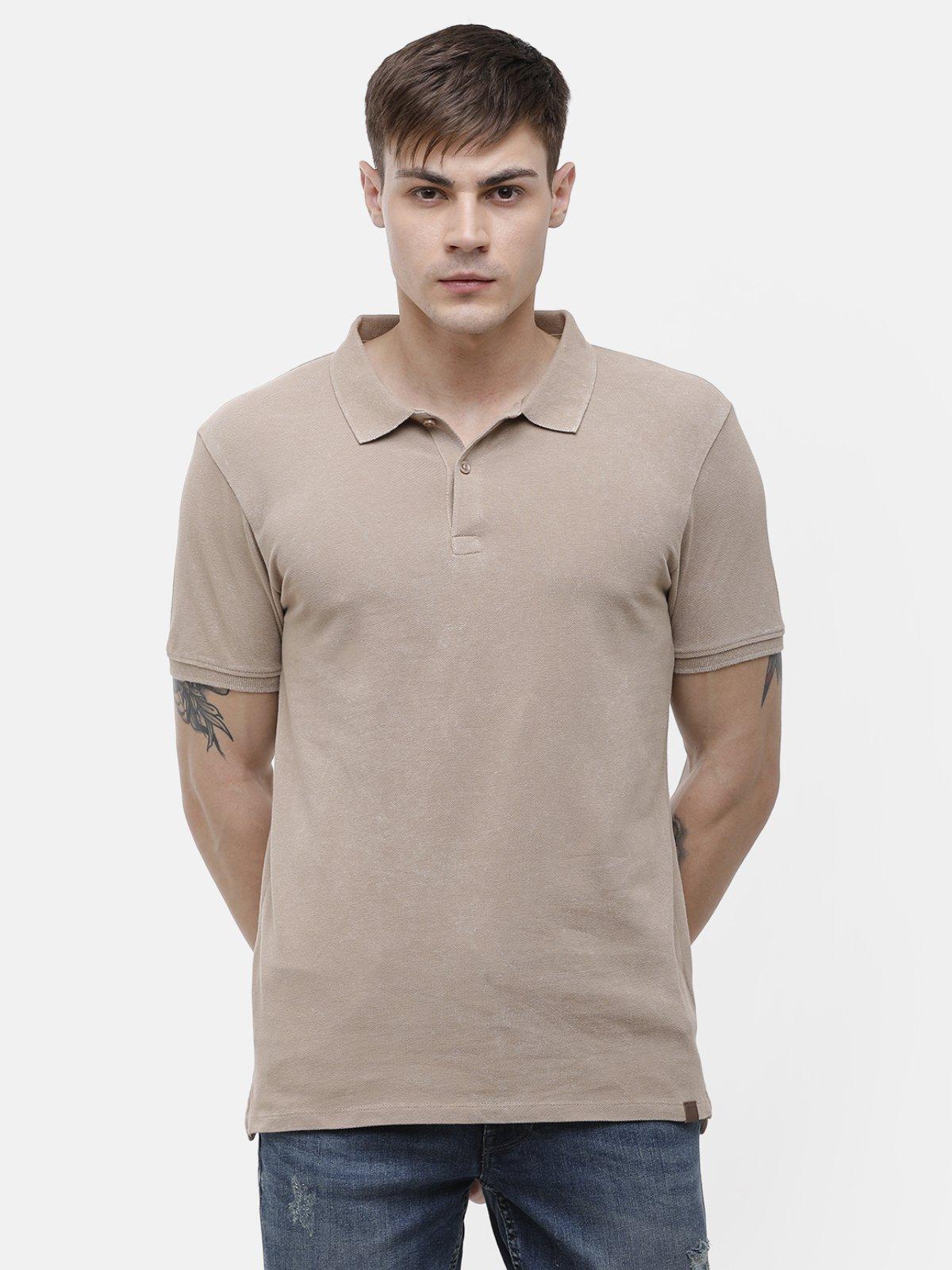 Voi Jeans | Beige T-Shirt ( VOTS1573)